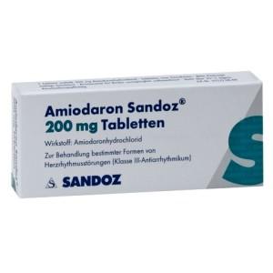 Заболевания могут быть вызваны приемом Амиодарона