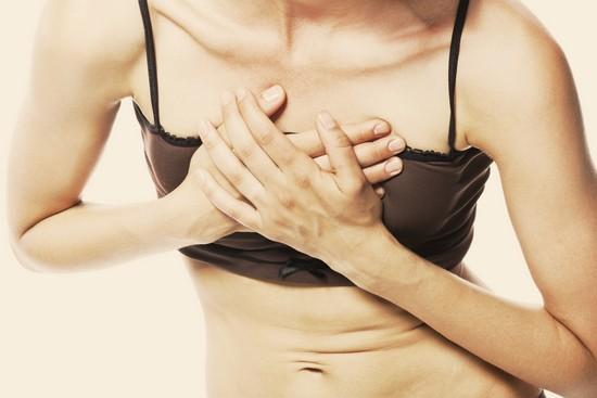 Боль в середине груди
