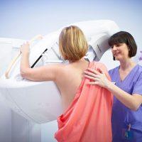 Маммография женской груди