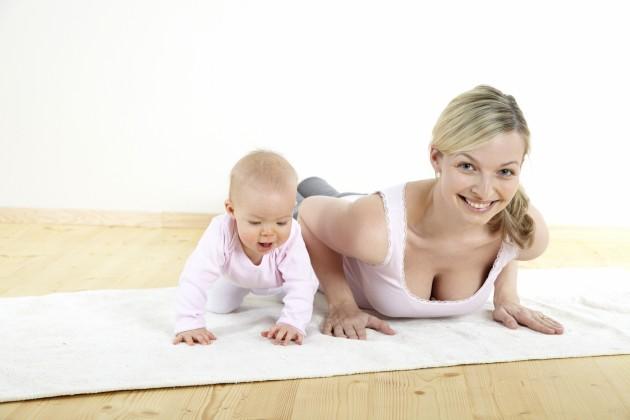 Кормящая женщина должна вести активный образ жизни