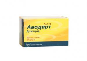 Курс терапии аденомы может включать Аводарт