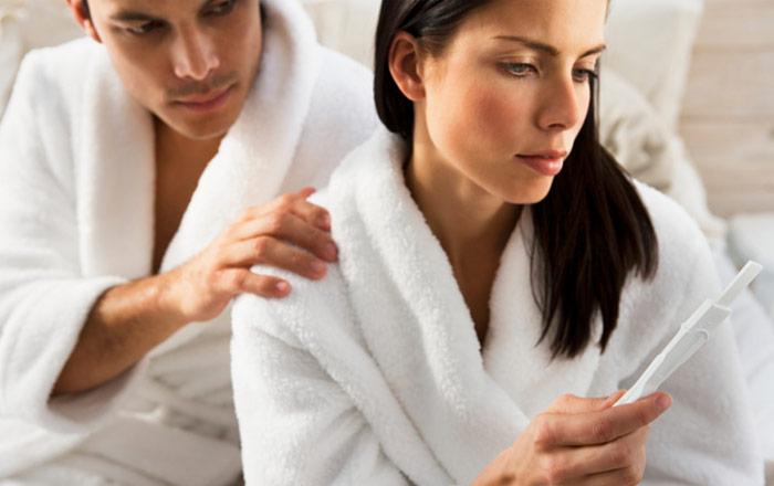 В результате нарушений выработки ТТГ у женщин развивается бесплодие