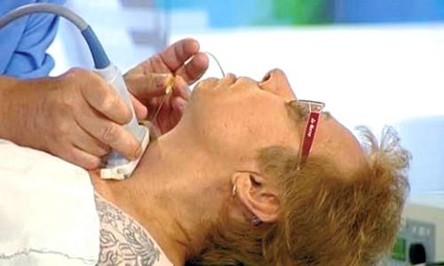 Для уточнения диагноза проводится тонкоигольная биопсия