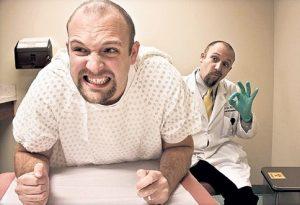 При проведении ректального исследования пациент не должен ощущать боль
