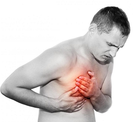 Болезненные ощущения в правой груди мужчин