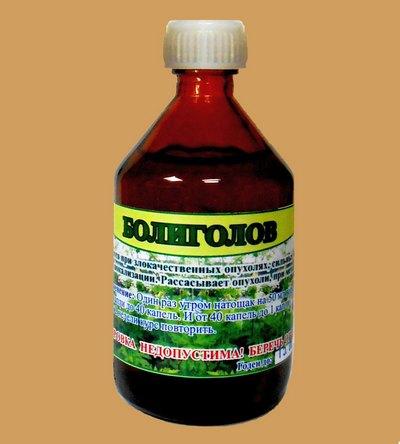 Настойка болиголова используется в терапии опухолей