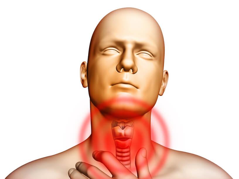Пациенты жалуются на ощутимую боль при глотании