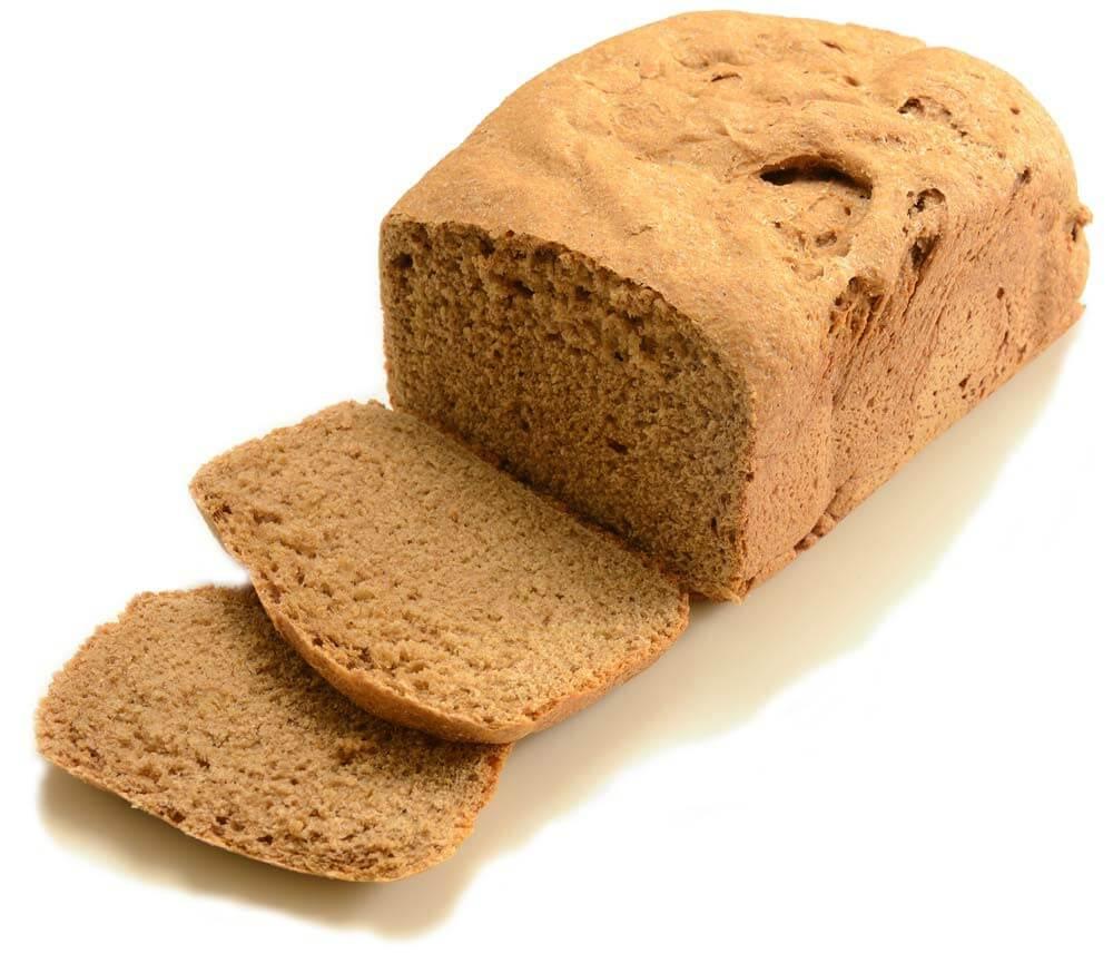 В рацион следует включать цельнозерновой хлеб