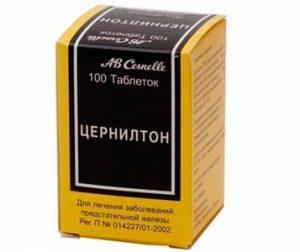 Цернилтон помогает при простатите и аденоме простаты