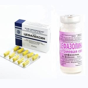 Препараты для лечения абсцесса