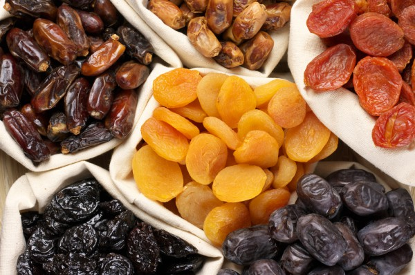 Курага и чернослив в рационе помогут наладить пищеварение