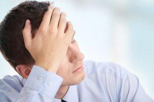 На третьей стадии аденомы простаты у мужчин появляется чувство слабости
