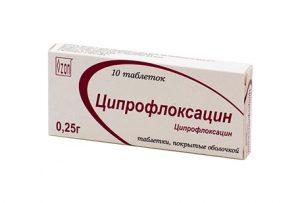 Ципрофлоксацин используется для лечения хронического простатита