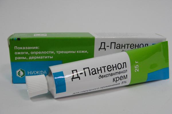 Для заживления трещин можно использовать Д-Пантенол