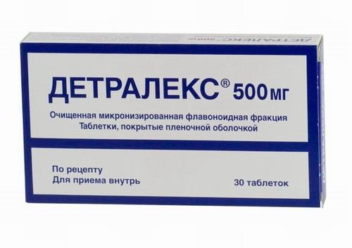 Зодак не рекомендовано совмещать с препаратом Детралекс