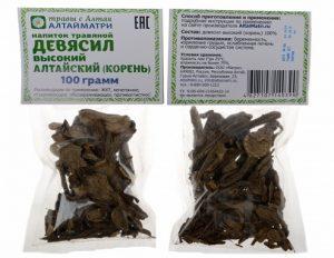 Лечение народными средствами включает использование корня девясила