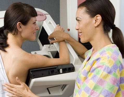 Диагностика фиброаденому с помощью маммографии
