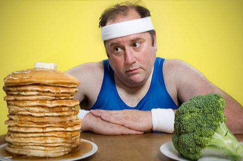 Нужно придерживаться определенного количества калорий в день