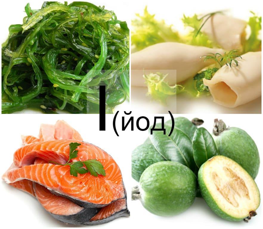 Диета, основанная на употреблении йодосодержащих продуктов, способствует более эффективному лечению