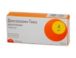 Доксазозин устраняет мышечный спазм при простатите
