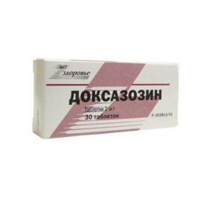 Для лечения аденомы простаты назначается Доксазозин