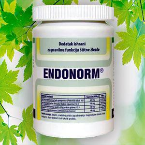 В лечении гипофункции щитовидной железы используется препарат Эндонорм