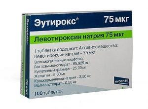 Эутирокс для лечения щитовидки