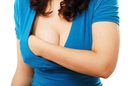 Обнаружить фиброаденому женщина может при простом прощупывании