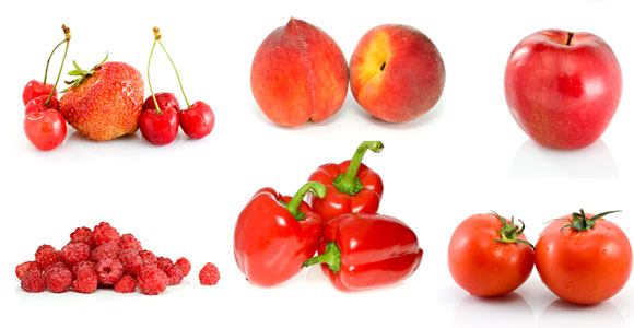 Женщине назначается диета с высоким содержанием фруктов и овощей красного цвета