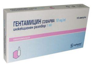 При бактериальном простатите назначается Гентамицин