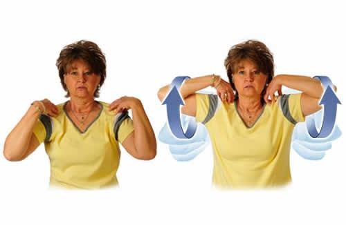 В послеоперационный период  необходимо выполнять специальные упражнения