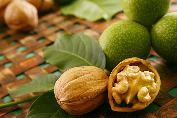 Начинать употребление орехов необходимо с 1-2 ядрышек
