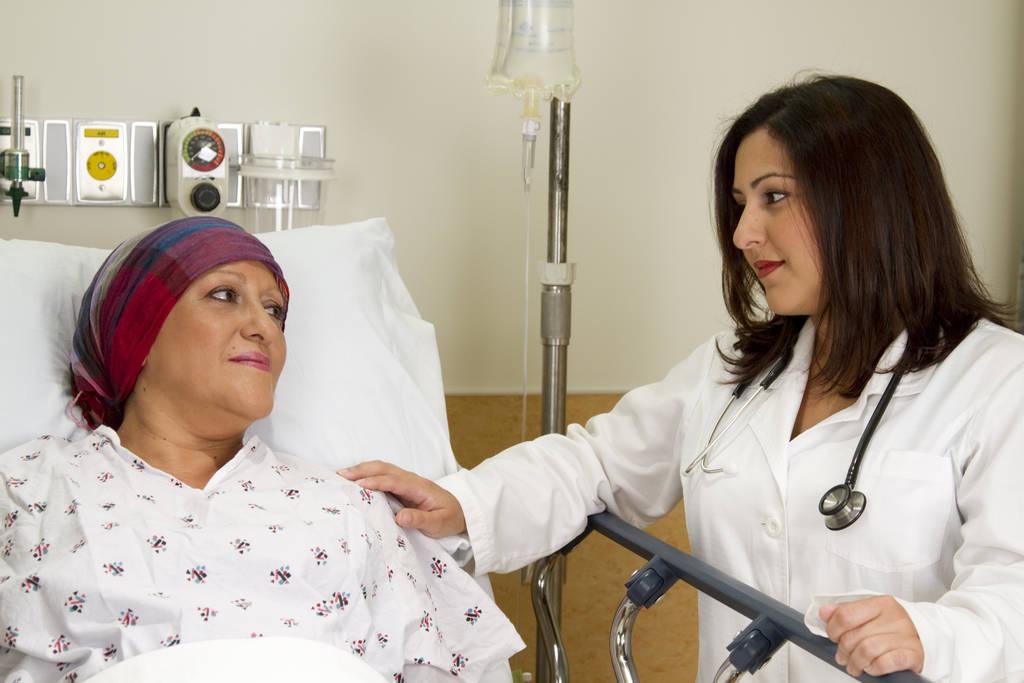 Химиотерапия помогает справиться с заболеванием