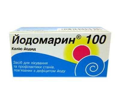 Лечение включает обязательный прием препарата Йодомарин