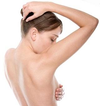 Выявление образований в груди