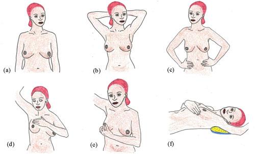 Как провести самостоятельное обследование груди