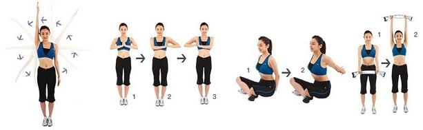 Упражнения на укрепления груди