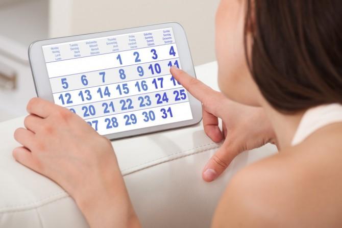 Календарный метод защищает с вероятностью 50%