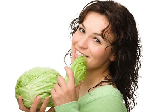 Употребление капусты для роста груди