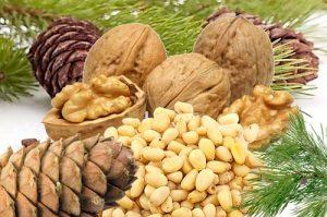 В лечении щитовидки используется кедровый орех