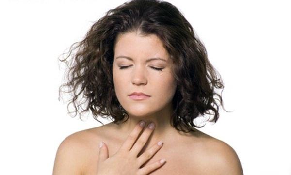 Пациенты страдают от ощущения комка в горле