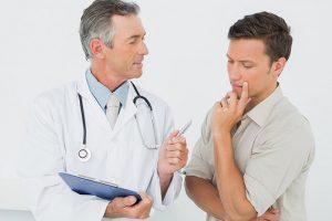 При подозрении на заболевания предстательной железы следует посетить уролога