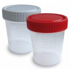 Для сдачи анализа мочи нужно приобрести пластиковый контейнер