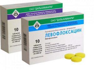 При хроническом бактериальном простатите назначается Левофлоксацин