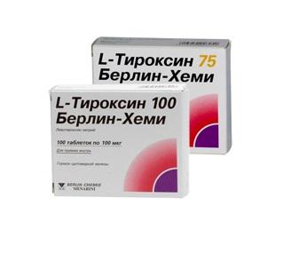Для лечения эутиреоидного зоба назначаются препараты на основе левотироксина натрия