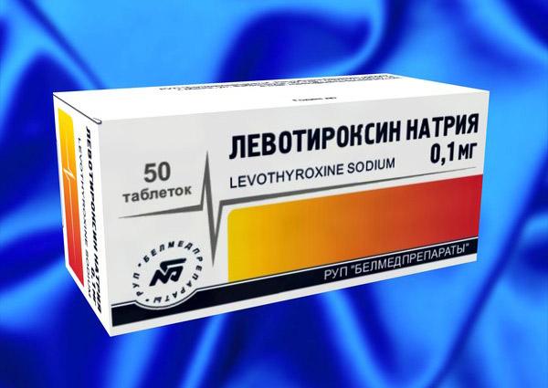 Для лечения назначаются препараты на основе левотироксина
