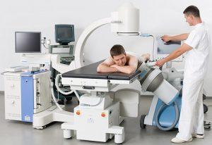 Для лечения простатита пациент направляется на физиопроцедуры