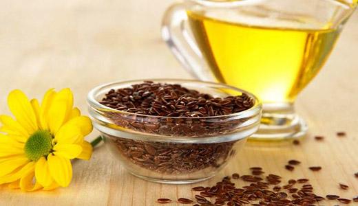 Льняное масло используется для компрессов