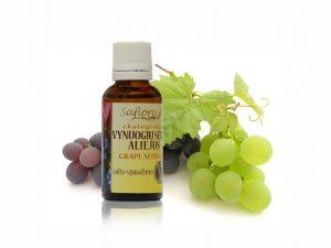 Для массажа простаты можно использовать масло виноградных косточек