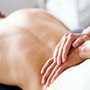Наружный массаж простаты начинают с воздействия на пояснично-крестцовую область